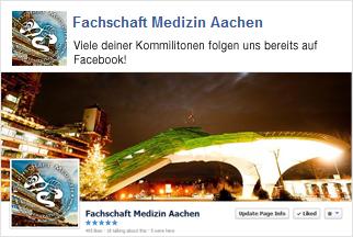 Besuche die Fachschaft Medizin Aachen auf Facebook!